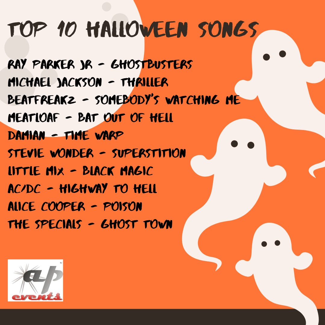 Our list of top Halloween songs