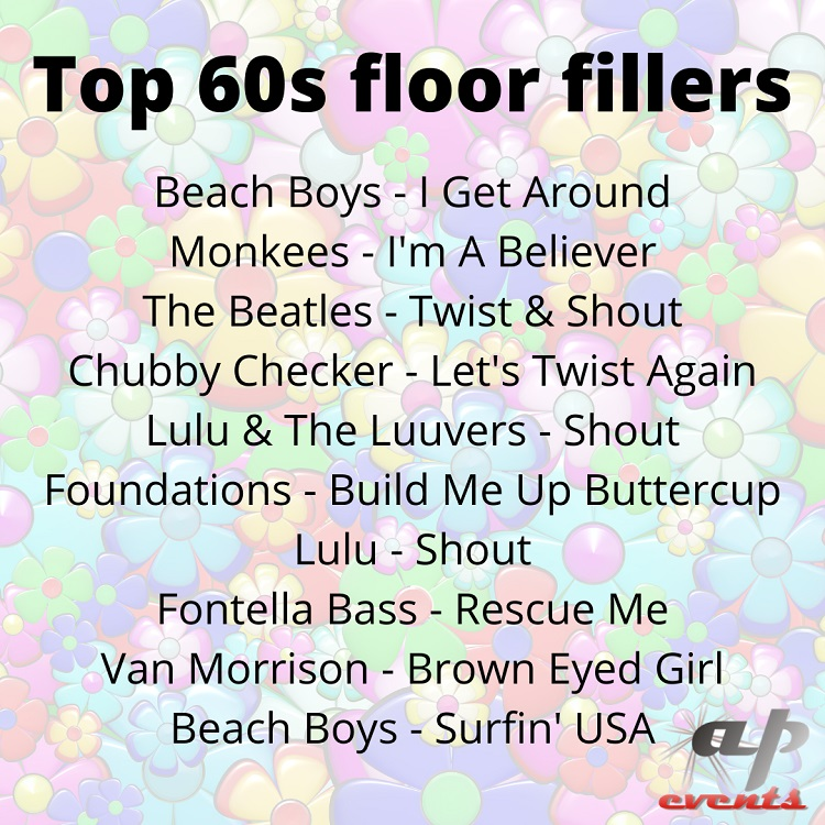 Our list of top 60s songs