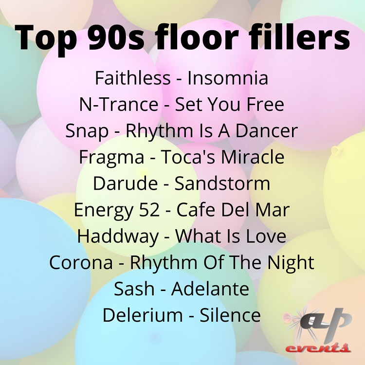 Our list of top 90 songs